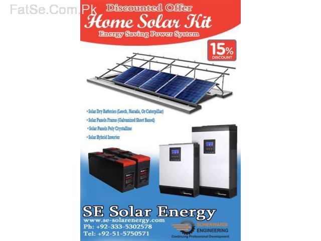 Solar Home Power System (1KVA) Prices Rawalpindi Islamabad