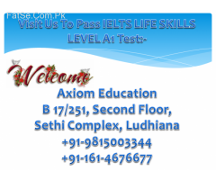 ielts life skills test in kerala,ludhiana