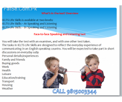 ielts life skills esol a1 test centre in hoshairpur