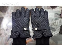 Men High quality Sheep Leather gloves