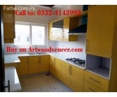 High Gloss Kitchen Manufacturing in Lahore Rs.1700/-SFT