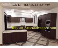 Veneer Kitchen Manufacturer in Lahore Rs.2200/-SFT