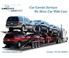 Linkers Car Carrier services car moving from karachi