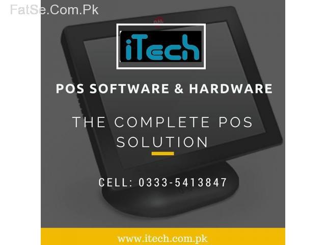 POS Billing stock management software and hardware/ecr cash register. bar code scale
