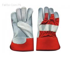 Leather Working Gloves  6 pair