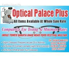 free eye testing till 05.11.17