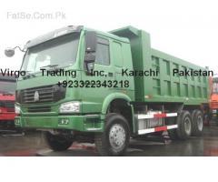 howa  sino Dump truck china's authorized & sold agents pakistan...