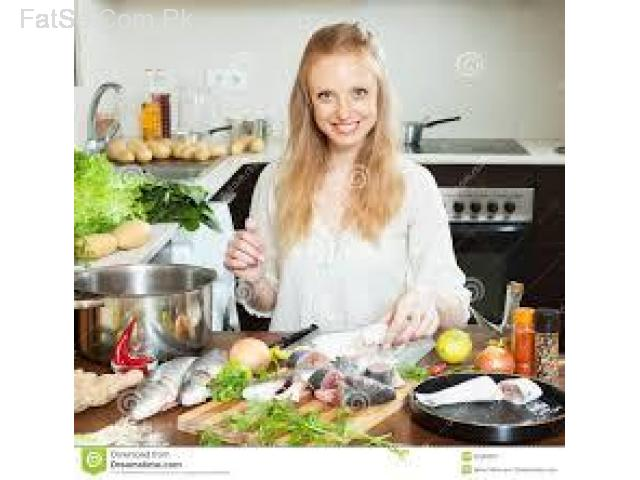 Available cook helper maid etc