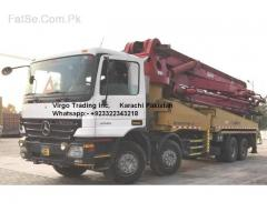 RENT available-Concrete pump 42,45,52 matter imported just brand new