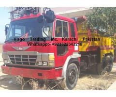 HINO-FS661KE brand dump truck loading hydraulic import 2015