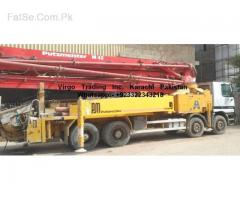 putzmeister m-42 Concrete pump 36 matter rent imported