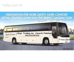 shanghai to Karachi Air condition coach's models 2018