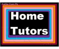 2.Home Tutors required for  Pindi Islamabad & on  Skype world wide