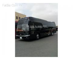 Daewoo (A/C Coach) brand new models 2018-19 BH116F/BH115