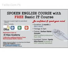 Spoken English with basic IT