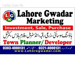 one kanal plot for sale in govt officer's housing society raiwind road lahore