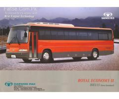 Daewoo BH-115 Air Conditioning Passenger Coach