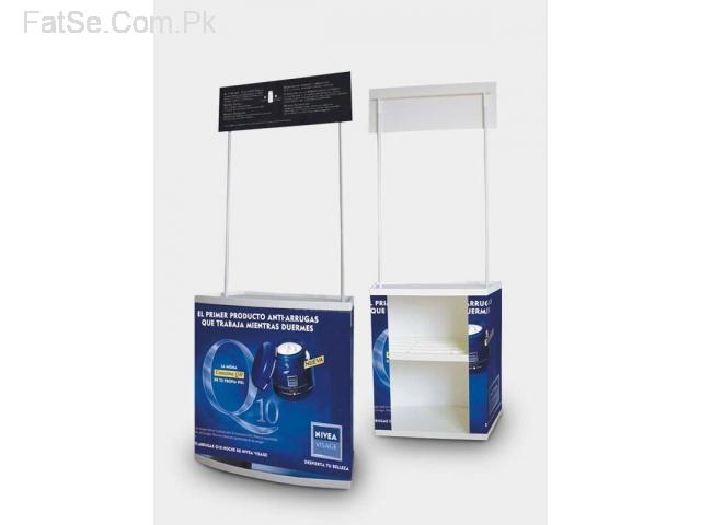German Tecnalogy Outdoor & Promotion Portable Folding Table/Kiosk