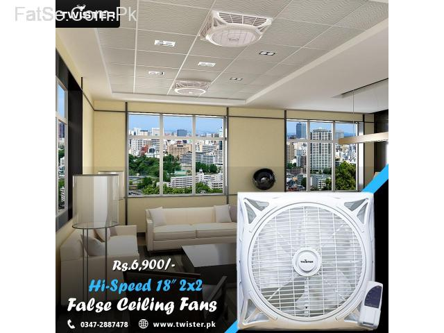 3in False Ceiling Fans