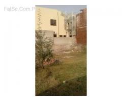 4marla plot zaheer villas near colege road lahore