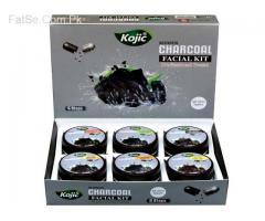 Kojic Charcoal Facial Kit (6x100m
