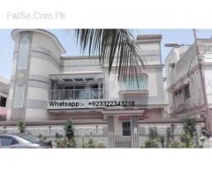 rent banglow gulshan 400sqyd main wide roads 150ft