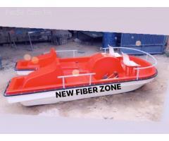 fiber paddle boat