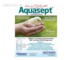 Treat your water farm with Aquasept
