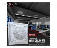 """FAN PRO Energy Saving 14"""" 2x2 False Ceiling Fan"""