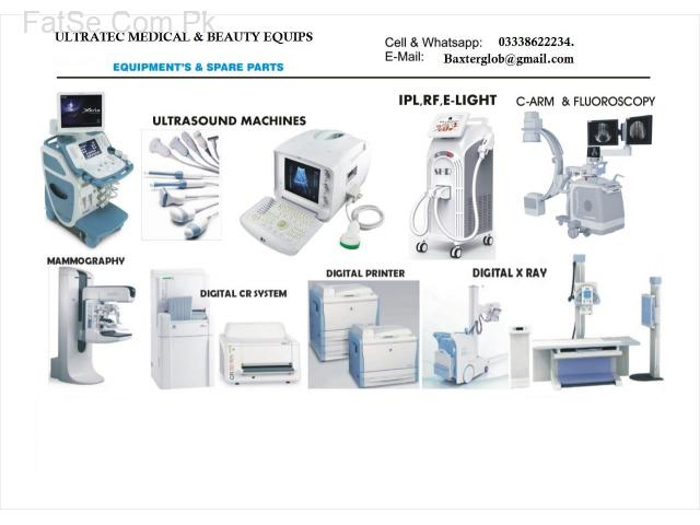 Ultrasound , color Doppler, X Ray , CR  ,ct scan