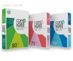 required A-4 sizes papers best export quality
