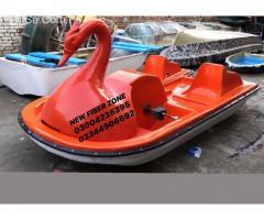 fiberglass duck paddle boat