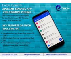 Bulk SMS marketing mobile app (android)