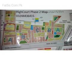 High court Phase 2 plot 4 marla near college oad  Lahore