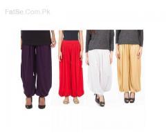 Pack Of 4 Hareem Pants