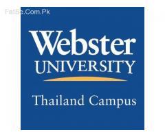 Get 50% Scholarship in Webster University