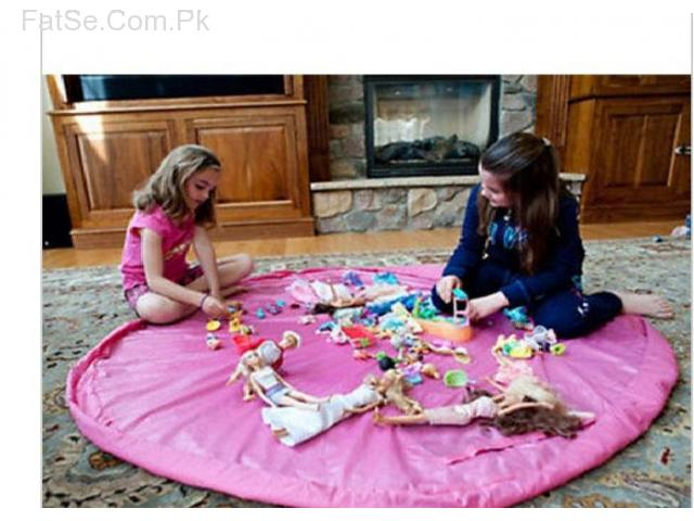 Portable Toy Bag and Play Mat